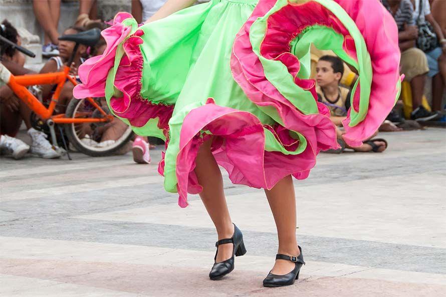 Bailes típicos de Cuba