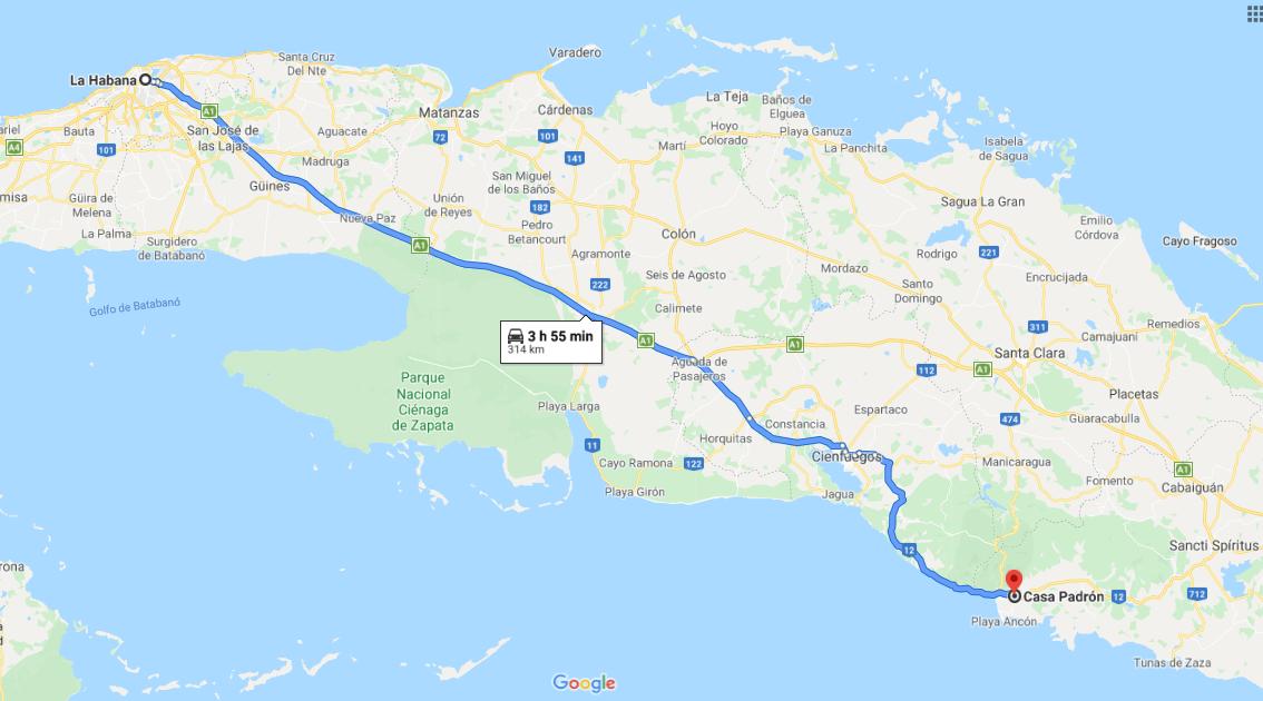 Cómo llegar al Museo de Arqueología Guamuhaya o Casa Padrón, Cuba