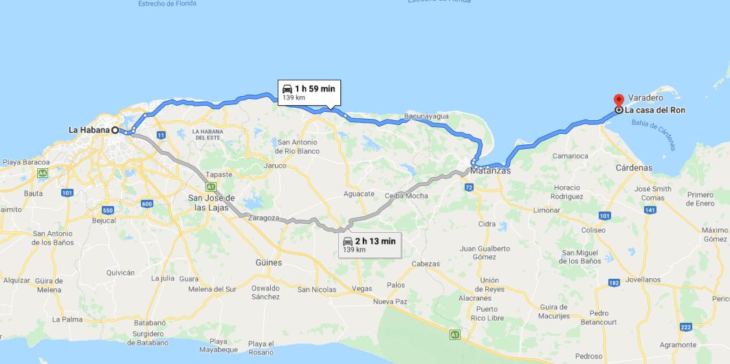 Cómo llegar a Casa del Ron Cuba