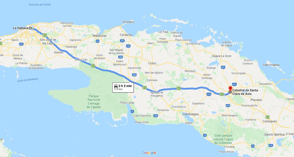 Cómo llegar a Catedral de Santa Clara, Cuba