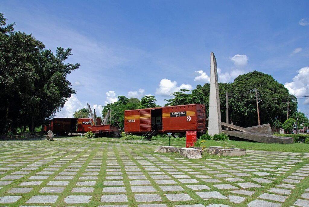El Parque del Tren Blindado