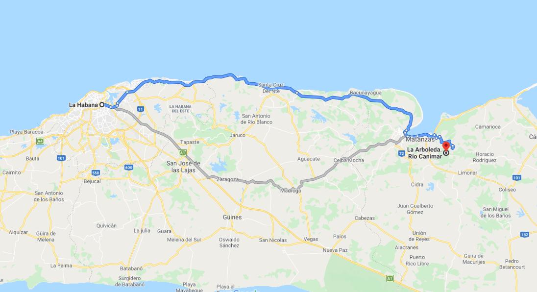 Cómo llegar a La Arboleda, Cuba