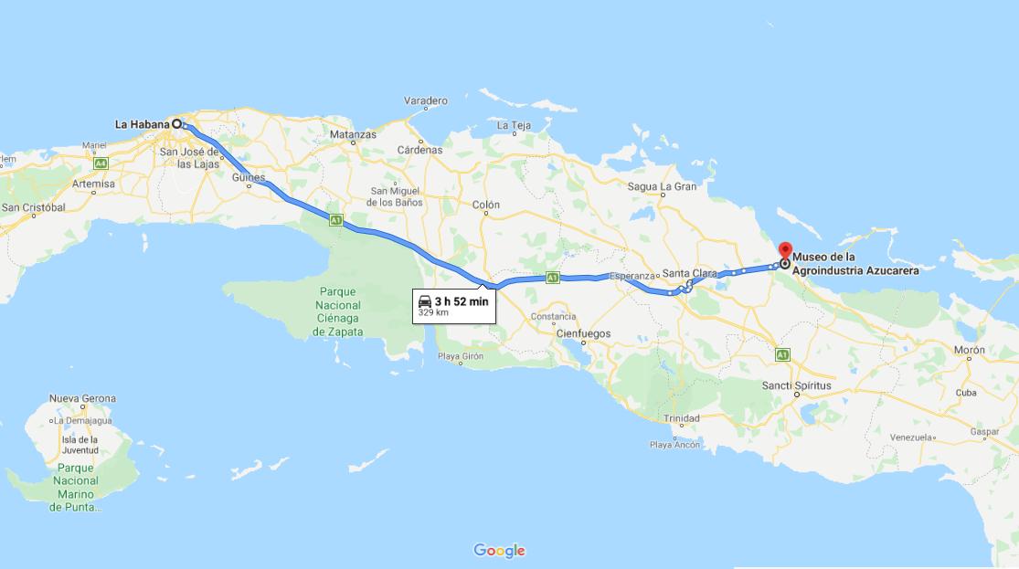 Cómo llegar al Museo de Agroindustria Azucarera Marcelo Salado, Cuba