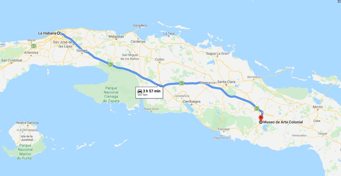 Cómo llegar a Museo de Arte Colonial Cuba
