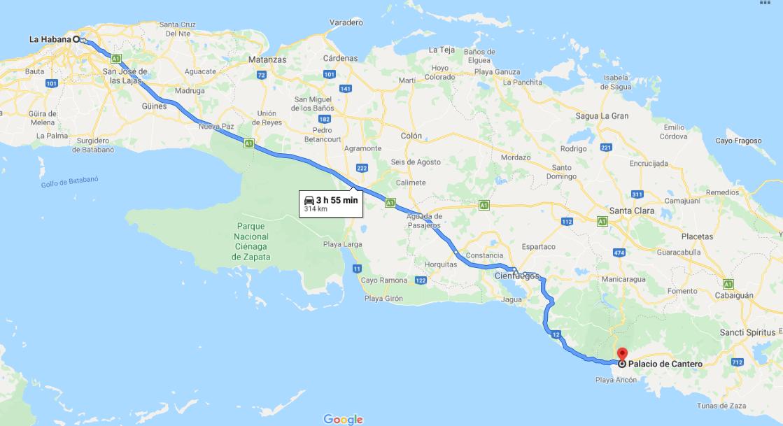 Cómo llegar al Museo Municipal o Palacio Cantero, Cuba