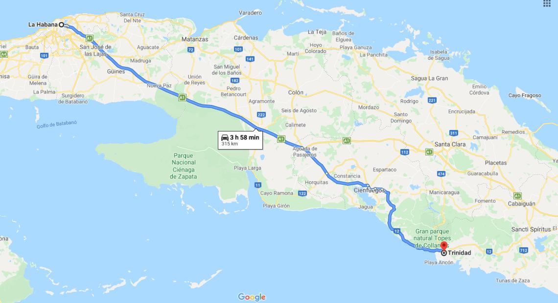 Cómo llegar a qué ver en Trinidad